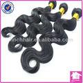 sandales indiennes 16 pouces 3 paquets naturel noir ondule