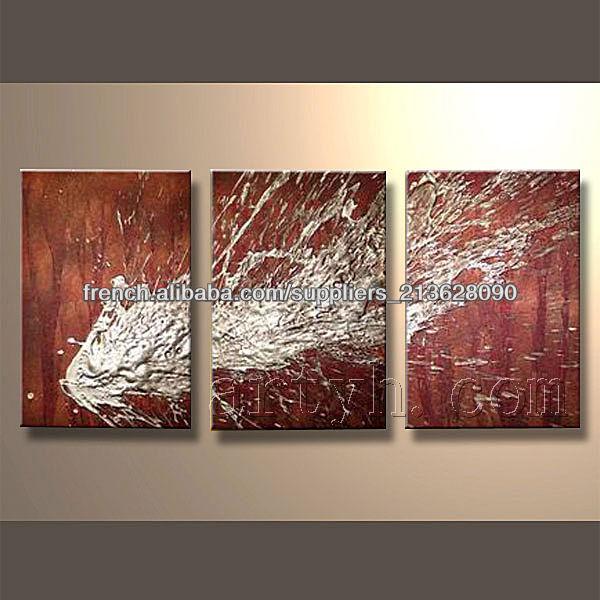 Populaire moderne la main d coratifs peinture l 39 huile abstraite - Peinture a l huile moderne ...