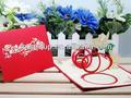 hermoso ángel de la tarjeta de cumpleaños de los niños de regalo hecho a mano tarjetas de felicitación