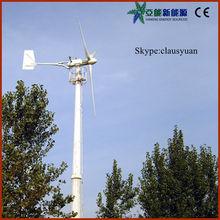 3 palas de aerogenerador aerogenerador de pequeña potencia 50kw
