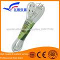 cable de extensión con tomas de luz
