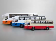 Mini 1:75~1:150 escala modelo de autobús para el modelo de arquitectura de diseño, el diseño del paisaje