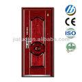 las puertas exteriores metálicas utilizadas