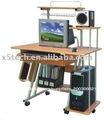 precio barato de madera mesa de ordenador