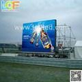 p10 a todo color del led valla publicitaria móvil para la publicidad al aire libre alibaba express