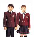 uniforme escolar, chaqueta de la escuela de encargo, tamaño libre con color de la mezcla