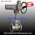 Grifo de cierre neumático válvula de compuerta motorizada para el agua/de gas/de aceite