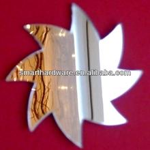 de espiral decorativa estrella espejo de la pared