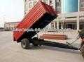 7cx-5( e) granja tractor remolque para la venta con el certificado ce