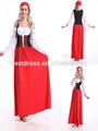 senhoras wench oktoberfest alemão cerveja da empregada doméstica de fantasia de halloween vestido medieval das mulheres