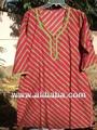 de impresión étnicos cambrics de algodón kurtis kurtas túnica