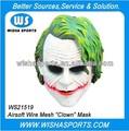 """""""Clown"""" Airsoft ejército cosplay máscara de dos"""
