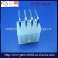 Rohs echada 4.2mm ángulo recto conectador del alambre 5557-8P