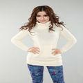 Tortuga- el cuello de la cachemira/suéter de lana