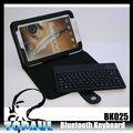 fantástico bluetooth inalámbrico de teclado para samsung