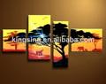 acrílico pintura abstracta de lona pintura al óleo