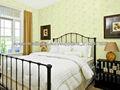 Tela cómoda moderna de la pared del dormitorio BS0622