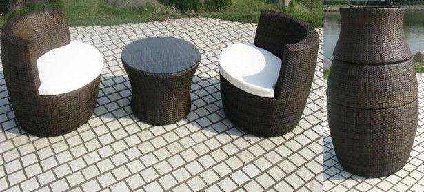Beautiful salon de jardin rond empilable ideas amazing house design for Salon jardin rond