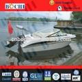 certificado de la iso metros 4 pequeño barco de ocio