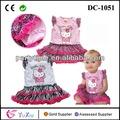 la moda de hello kitty imagen bebé vestido de niña