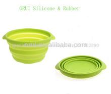 portátil saludable de frutas de silicona de golpe