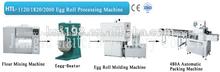 rollo de huevo de la máquina de procesamiento