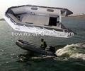 alumínio barco de pesca inflável
