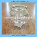 vintage albañil ideales claros de vidrio de conservas dulces frasco de vidrio con corcho