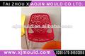 Moldeado muebles, silla de plástico fabricante de moldes