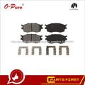 Pastillas De Freno Baratos 58101-1GA00 De China Auto Partes Buena Calidad Para Hyundai Accent