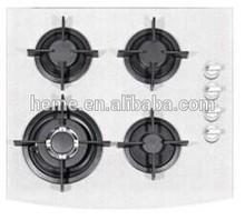 Venta caliente 4 quemador de vidrio de la arena de gas quemadores pg6041g-acs