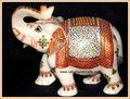 artesanías de mármol estatua de elefante