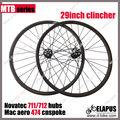"""Chino 29"""" clincher 29er mtb de fibra de carbono rueda de bicicleta"""