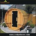 madera de cedro sauna seco habitación