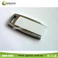 caja de metal 1gb impulsión del flash del usb pendrive de acero para regalo de la promoción