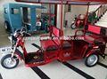 3 carro roda da motocicleta/triciclo elétrico/passageiros triciclo scooter/48v, 60ah handicaped