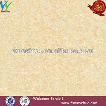 Flores de color amarillo azulejo de piso diseños/mejor calidad de china de la porcelana azulejo de piso 600x600