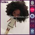 """Personalizado 11"""" de moda de american girl de cuerpo completo negro muñeca"""