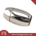 china proveedor de acero inoxidable de cierre magnético de plata pulseras para objetos de arte