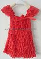 2013 venta caliente! encajes vestido para las niñas con vestido de encaje manga del casquillo