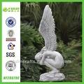 bastante grande alas de jardín de resina de ángel decoración