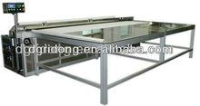 CQJ chino fabricante de maquinaria automática para telas verticales de rodillos de corte en pedazos