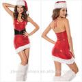 2014 con lentejuelas nuevo la mujer traje de navidad