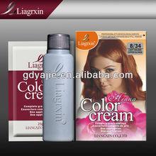 la esencia de hierbas orgánico para el cabello de color crema nutrir y tinte para el cabello de color 25ml