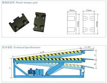Ajustable rampa hidráulica para remolque/camión rampa de carga