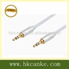 5ft alta calidad 3.5mm cable de audio estéreo cable macho a macho