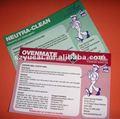 Adhesivo de la etiqueta de los productos básicos/champú etiqueta/cosméticos etiqueta