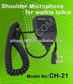 Walkie talkie kmc-21 micrófono de mano