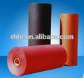 lámina de fibra vulcanizada / carbono, acero de color rojo / negro papel / hoja, cartón aislante, lámina piezoeléctrica