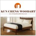 La apariencia moderna camas de madera para adultos/sólido de madera de madera de la cama/mueblesdeldormitorio conjunto